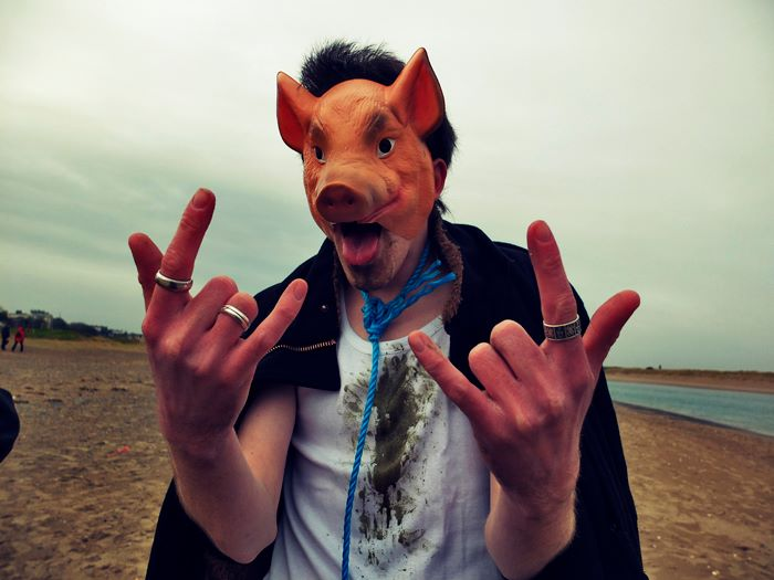 Me as a pig
