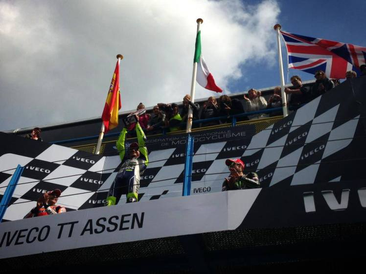 Rossi Win Assen