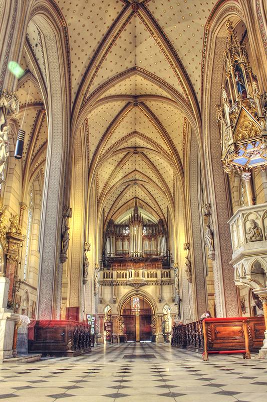 Big Cathedral interior