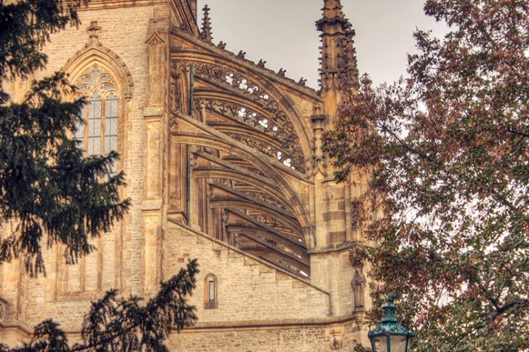 Kutna Hora Cathedral exterior 5