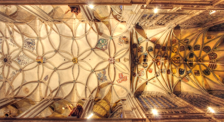 Kutna Hora Cathedral interior 6