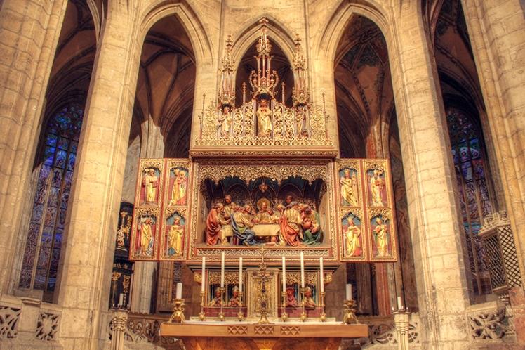 Kutna Hora Cathedral interior 7