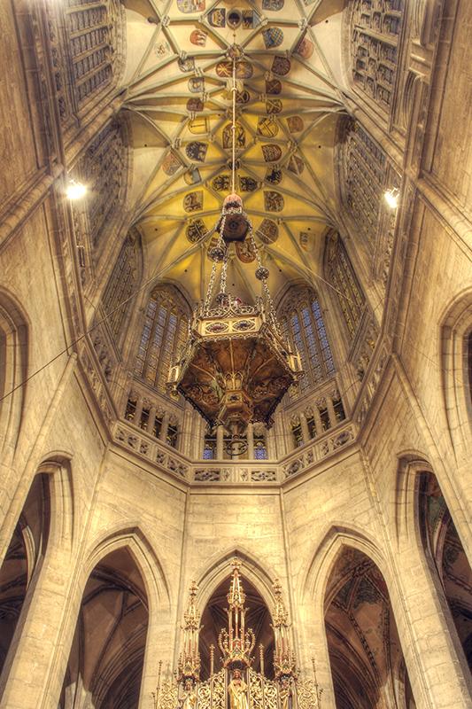 Kutna Hora Cathedral interior 8