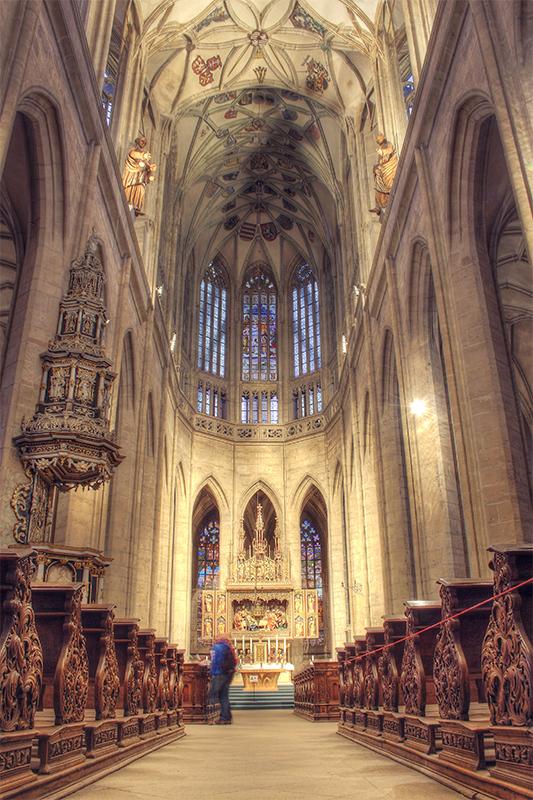 Kutna Hora Cathedral interior