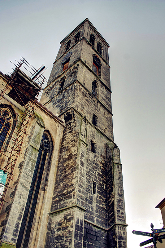 kutna hora church spire 2