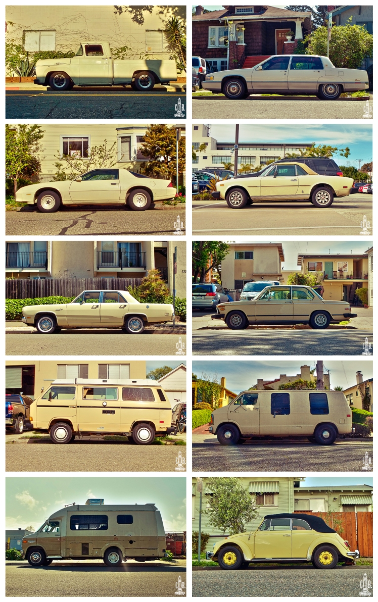 Cars Frame Cream