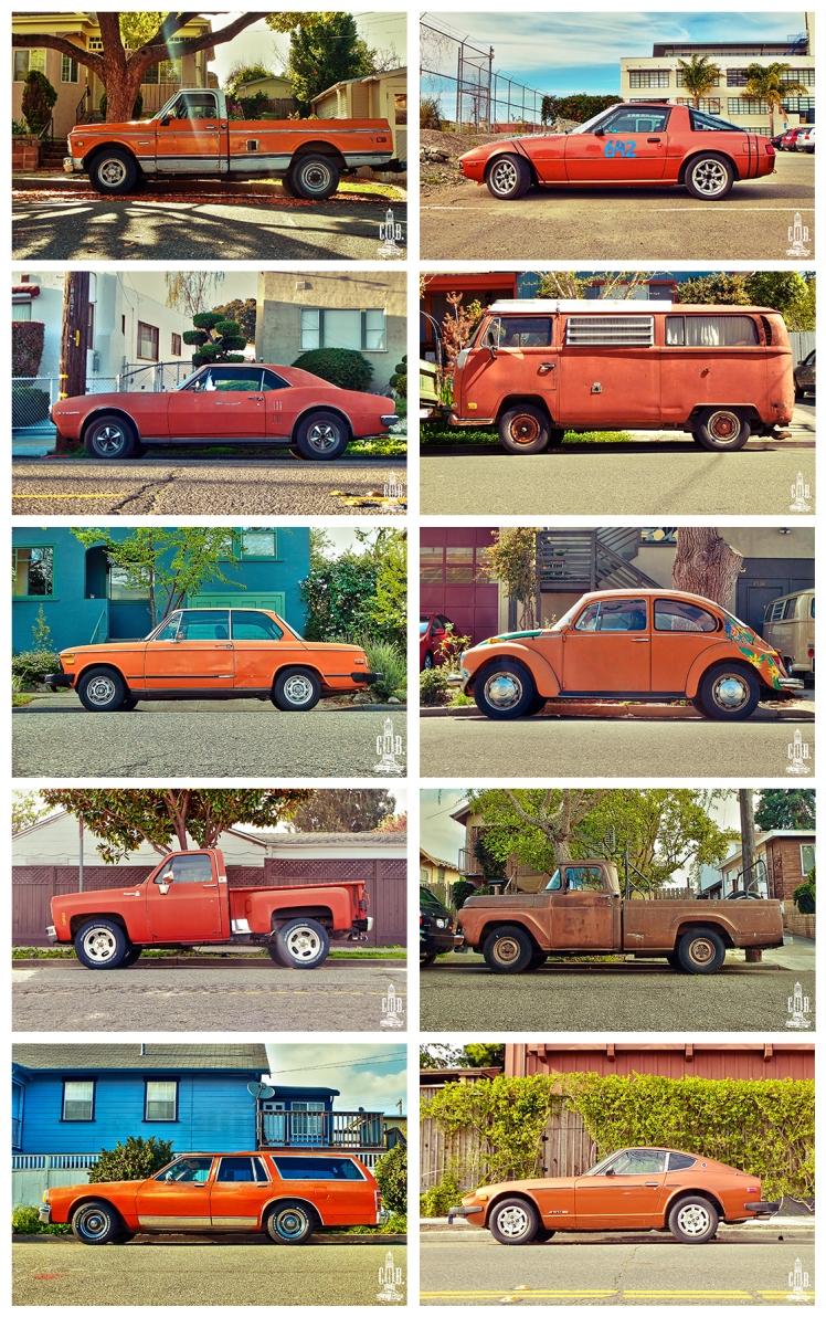 Cars Frame Orange