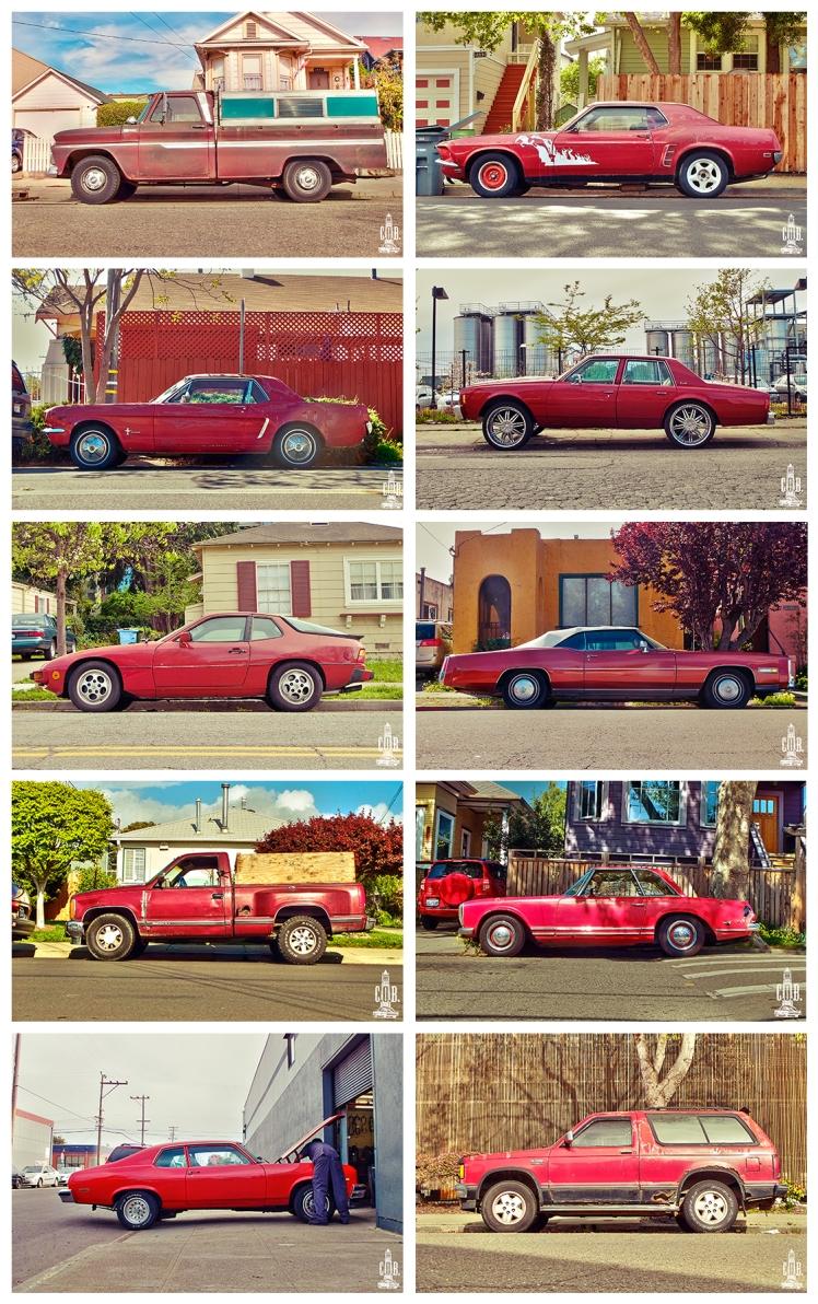 Cars Frame Red