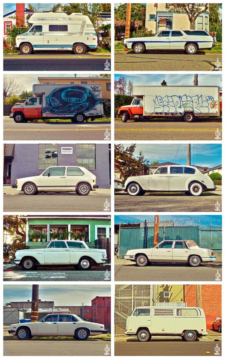 Cars Frame White