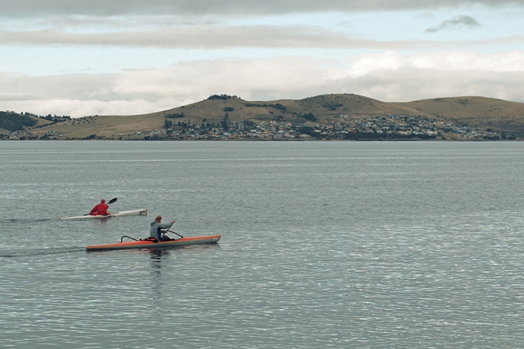 I was so jealous of these guys getting to paddle out into the estuary. *sighs*