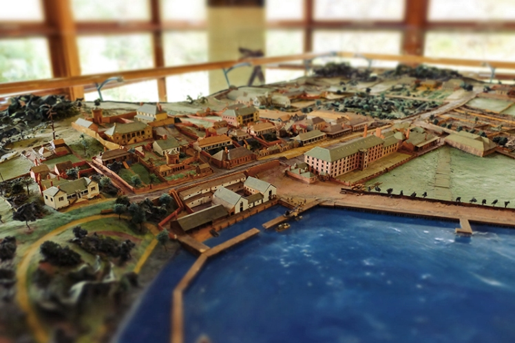 A model of the sight when it was in full swing greets you in the visitors centre.