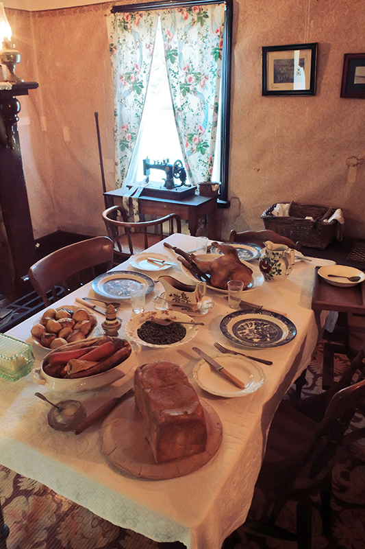 The various staff houses around the site are tastefully restored and give an insight into life on the other side of the fence.