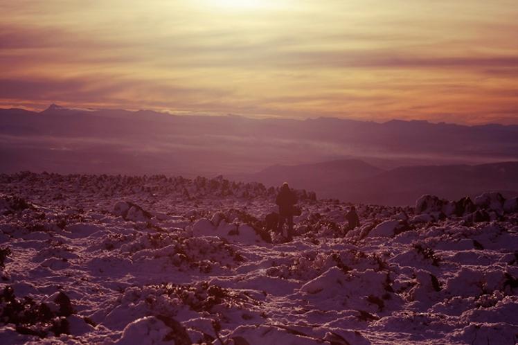 Just magical, setting sun+mountain=happy James
