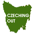 Czeching Out Tasmania Logo Square