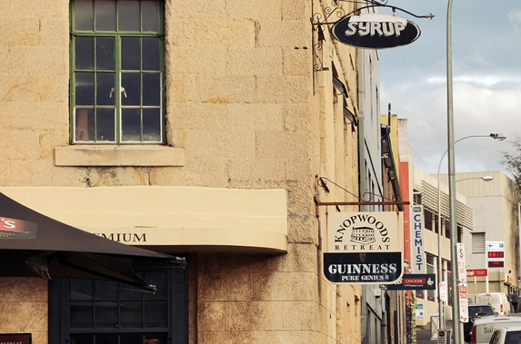 After walking around some of Hobart's best sites all day, you'll no doubt be thirsty and in need of refreshment. There's quite a few bars and restaurants in Salamanca and Knopwood's Retreat (21)is a great option.