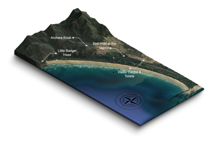 Narawntapu 3D map
